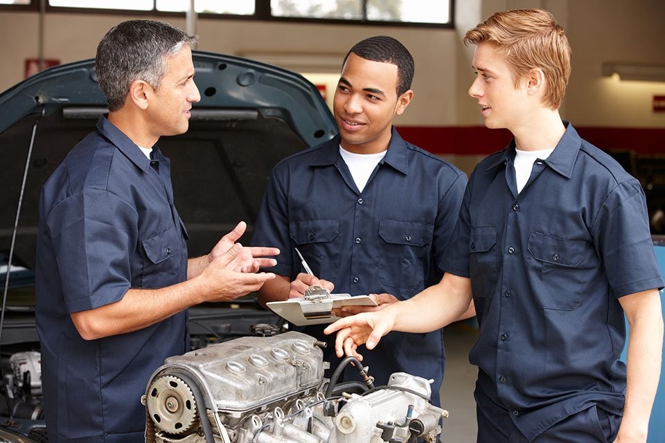 Vehicle Engine Repair at Martin's Auto Service